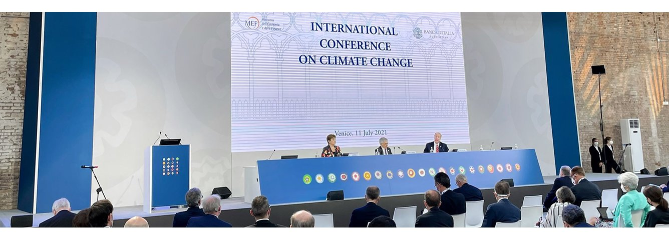 Remarks by World Bank Group President David Malpass at the Venice Climate Conference