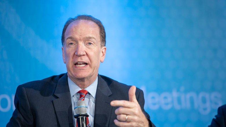 World Bank Group President David Malpass. Photo: © World Bank