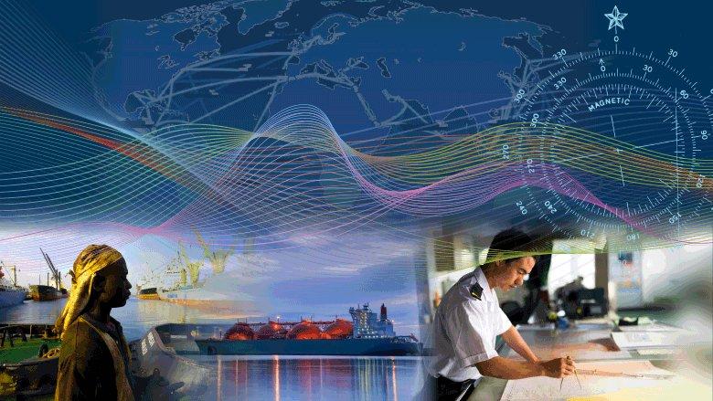 Decarbonizing Maritime Transport photo collage