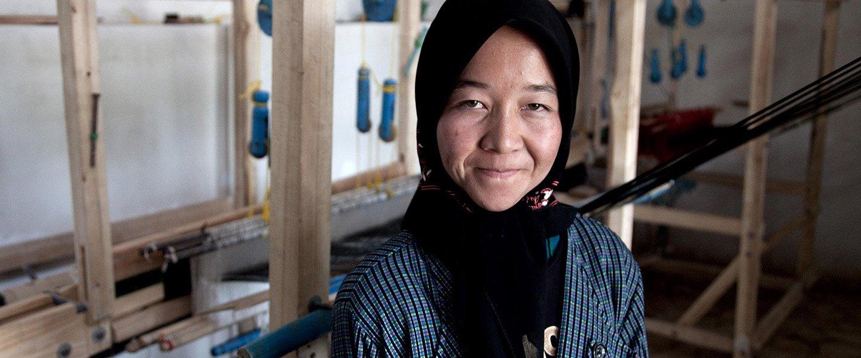 Retrato de una beneficiaria del Banco Mundial © Banco Mundial